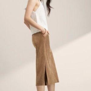 Wilfred Cremazie Skirt BLACK